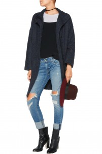 Cammie knitted coat