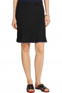 Yasmine ribbed-knit mini skirt