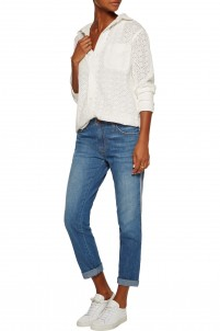 The Fling mid-rise cropped boyfriend jeans