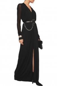 Lilies jersey maxi dress