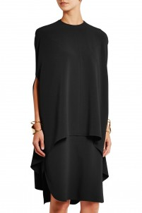 Backless crepe dress