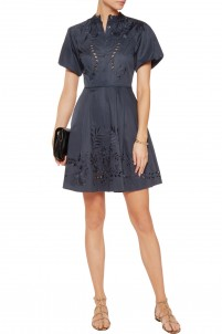 Lucy embroidered cotton dress
