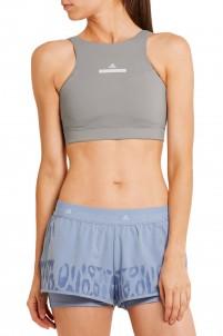 High Intensity cutout Climalite® stretch-jersey sports bra