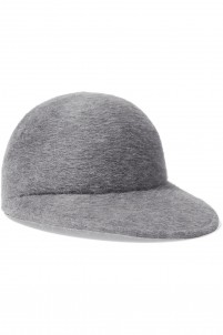 Queenie rabbit-felt cap