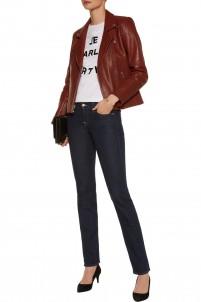 Roxanne low-rise slim-leg jeans