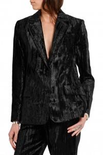 Mayall crushed velvet blazer