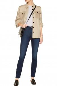 Rozie mid-rise slim-leg jeans