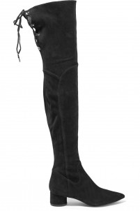 Zetan thigh suede boots