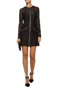 Jenette lace mini dress