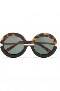 Hollywood Pool round-frame acetate glasses
