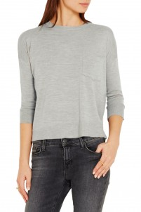 Le Crew wool and cashmere-blend sweater