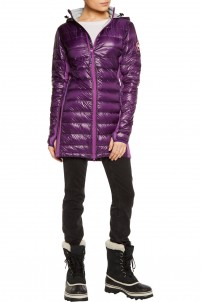 Hybridge Lite quilted shell down coat