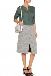 Split-back cashmere cardigan