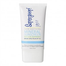 Skin Soothing Mineral Sunscreen with Olive Polyphenols SPF 40 2.4 fl.oz