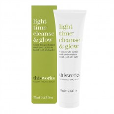 Light Time Cleanse And Glow 75ml