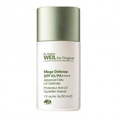 Dr. Weil For Origins™ Mega-Defense Advanced Daily UV Defender SPF45/ PA++++