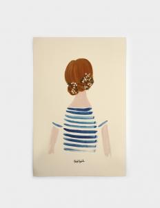 Hair Bun Poster