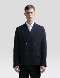 Dickie Unstructured Cotton-Blend Seersucker Blazer