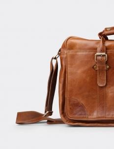 Krakatau Leather Briefcase