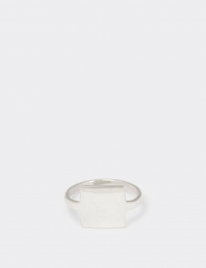 Conservative Silver Ring