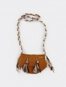 Chevron Ochre Small Mochila Bags