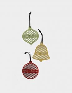 Christmas Hangers, Set of 3