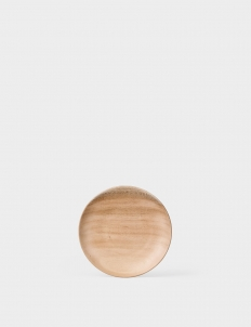 Curve Wooden Plate