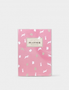 Pink Bunny Planner