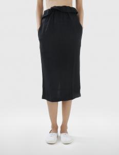 Renzy Rayon Midi Skirt