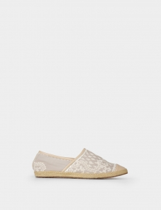 Espadrilles with Embroidery
