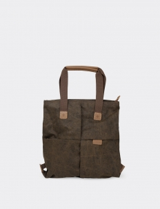 National Geographic Brown Canvas Tote Bag