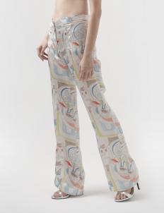 Maharati Silk Relaxed Pants