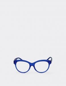 Malenka Cobalt Blue Optic Glasses (Deluxe Set)