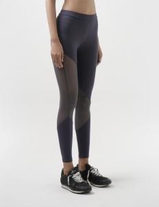 Grey Mesh Legging