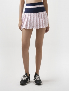 Mid-Knight Tennis Skirt