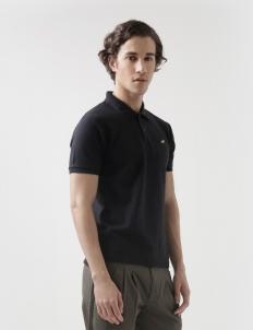 Black Polo Cotton Top