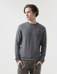 Light Grey Sweat Shirt Cotton Top