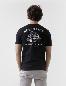 State Priority Black T-Shirt