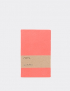 Coral Red Notebook
