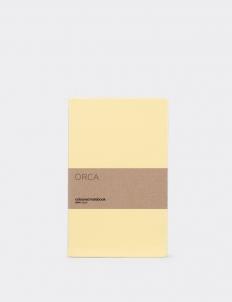Pastel Yellow Notebook
