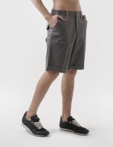 Button Camo Dimgrey Drill Shorts