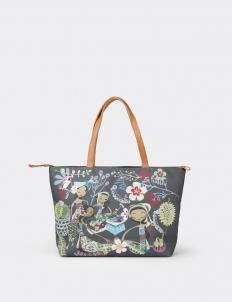 Fruit Market Canvas Bag