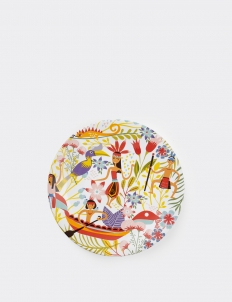Dayak Ceramic Dinner Plate