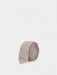Light Brown Wool Tie 2