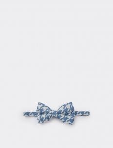 Blue Paisley Bowtie