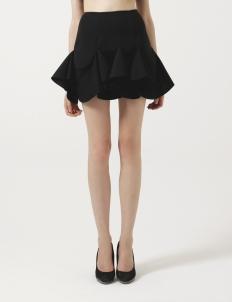 Black Spade Skirt