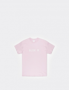 Blok M Pink Cotton T-Shirt