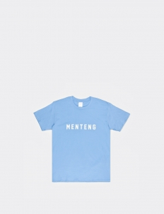 Menteng Light Blue Cotton T-Shirt