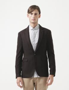 Blazer Dark Brown Wool
