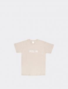 Polim Beige Cotton T-Shirt